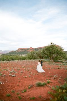 Destination Sedona   Photography by aarondelesie.com  Read more - http://www.stylemepretty.com/2013/09/03/sedona-wedding-from-aaron-delesie-lisa-vorce-mindy-rice/