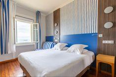 Chambre double confort vue sur mer Hotel Kyriad Saint Malo Plagf