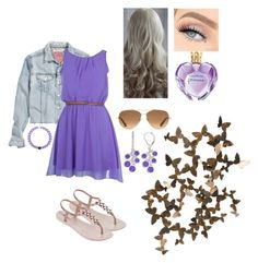 """""""#prettycasual"""" by katiejo10 ❤ liked on Polyvore featuring beauty, H&M, IPANEMA, Vera Wang, Alchemy Collection, Stella & Dot and Dana Buchman"""