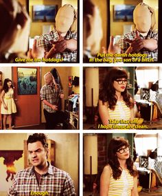 New Girl - Nick & Jess #3.17 #Season3   I hope those are clean.... enough