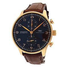 Men's Certified Pre-Owned Watches - IWC Portuguese automaticselfwind mens Watch IW371482 Certified Preowned * Read more at the image link. (This is an Amazon affiliate link)