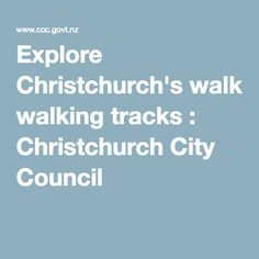 Summer might be officially over but you can still get outside and stretch your legs on one of Christchurch's many walking tracks and walkways. City Council, Walkways, New Zealand, Things To Do, Track, Walking, Explore, Legs, Catwalks