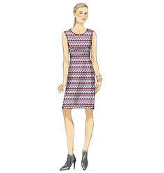 V9047 Misses' Dress | Very Easy