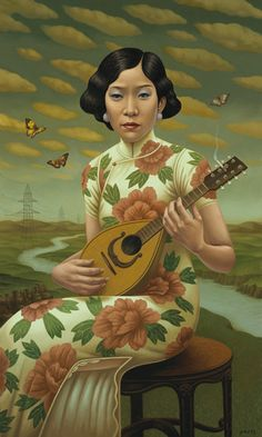 The Mandolin, Alex Gross