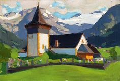 View Lauenen, Switzerland by Clarence Alphonse Gagnon on artnet. Browse upcoming and past auction lots by Clarence Alphonse Gagnon. Canadian Painters, Canadian Artists, Mountain Art, Mountain Landscape, Clarence Gagnon, Of Montreal, Chapelle, Cool Art, Awesome Art