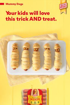 Halloween Food For Party, Halloween Desserts, Halloween Treats For Kids, Diy Halloween Decorations, Fall Crafts For Kids, Thanksgiving Crafts, Food Art For Kids, Cute Food, Good Food