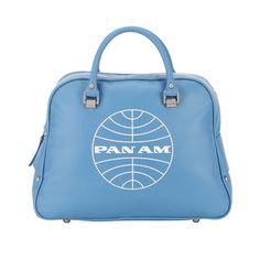 Fab.com | Pan Am: Layover Bag Blue, at 58% off!