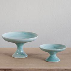 Etagere Berta türkis - 3punktf Keramik