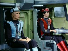 The SPV, or Spectrum Pursuit Vehicle, was essentially a street-legal tank of which the Spectrum Organisation made extensive usage. Captain Scarlet, shown here driving, would often crash them in so driving them. Ufo Tv Series, Best Series, Joe 90, Children Of The Revolution, Thunderbirds Are Go, Fantasy Tv, Space Toys, Classic Sci Fi, Programming For Kids