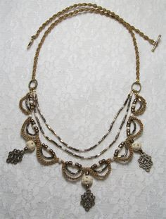 Royalty Micro #Macrame Necklace Image