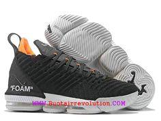 7e8c17cc7f2c9d Nouveau Nike LeBron 16/XV Chaussures De BasketBall Pas Cher Homme Jaune  blanc noir AO2588_I122