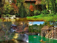 Old Mill Animated Wallpaper