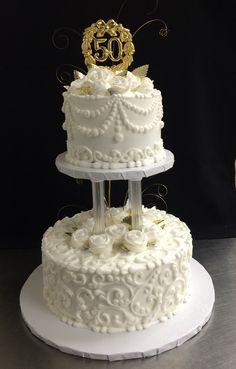 Hyvee Almond Wedding Cake