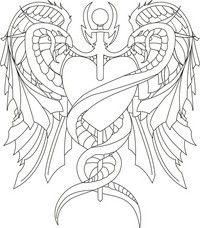 Outline Sketch Tattoo Designs For Men