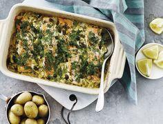 Laks og porrer i ovn - nem opskrift! | SPIS BEDRE