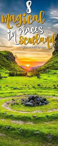 Scotland vacation tips. Here are 8 magical places to visit! #scotland #scotlandvacation scotland vacation | scotland vacation scottish highlands | scotland vacation outfits | scotland vacation places to visit | scotland vacation packages | Scotland Vaca