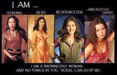 Women of Serenity crew