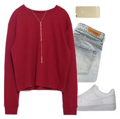 """15"" by sigrid997 ❤ liked on Polyvore featuring NIKE, Denham, Zara, Jennifer Zeuner and Sonix"