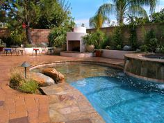 Pool tile designs pool water fountain design ideas small swimming pool fountain design pools for What is swimming pool in spanish