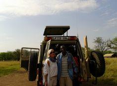 Guideon (conductor Udare Safari). Agosto 2014