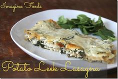 Potato Leek Lasagna (and a coupon!)