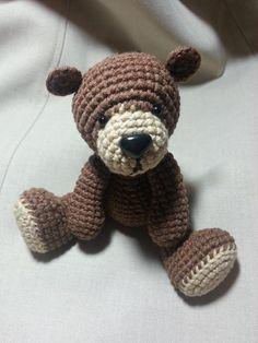 Cute Teddy Bear Amigurumi pattern on Craftsy.com