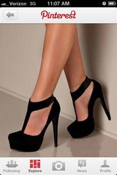 Black heels :)