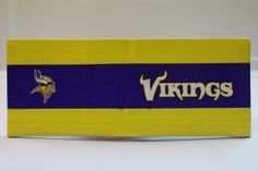 Duct Tape Wallet (Bi-Fold) - Minnesota Vikings, $15.  We are also on Etsy at:  www.junorduck.etsy.com.