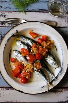 The most simple and best tasting fish on a BBQ - Sardines. Maybe this recipe comes close - Spanish-style sardines from Noordhoek