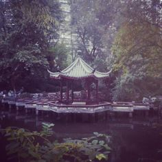 Inside tongji university Shanghai, Gazebo, University, Outdoor Structures, Kiosk, Pavilion, Cabana, Community College, Colleges