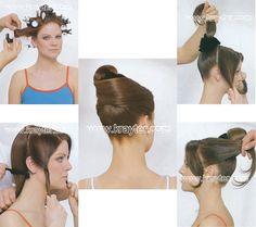 Peinados recogidos de fiesta paso a paso