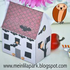 MeinLilaPark – DIY printables and downloads: Free printable halloween box - Druckvorlage Hause ...