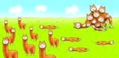 【微グロ注意】アルパカがアルパカを捕食&異形化する ほのぼの風狂気ゲーム『アルパカにいさん』 | アルパカにいさん | TABROID(タブロイド)欲しいアンドロイドアプリをギュッと凝縮!