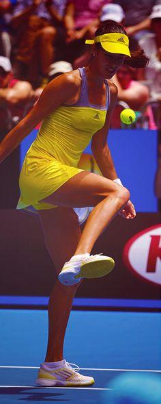 Ana Ivanovic #tennis @jugamostenis