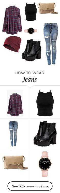 """Flannel and jeans"" by thefancyfashionlife on Polyvore featuring Madewell, Miss Selfridge and UGG Australia"