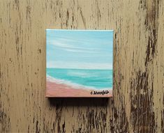 Beach painting Ocean painting Seascape painting Coastal painting Beach house art Nature painting Under 50 dollars Free shipping US Seascape Paintings, Nature Paintings, Your Paintings, Watercolor Paintings, Original Paintings, Watercolor Cards, Watercolor Flowers, House Art, Art Nature