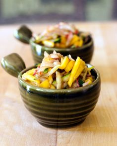 Spicy Fruit Slaw - It's not summer BBQ without it!
