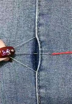 Sewing Basics, Sewing Hacks, Sewing Tutorials, Sewing Crafts, Sewing Stitches, Sewing Patterns, Sewing Clothes, Diy Clothes, Diy Fashion Hacks