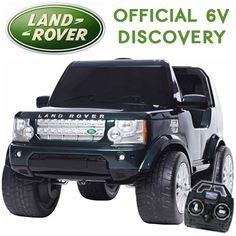 licensed kids 6v land rover discovery jeep ride on with remote 24995 kids