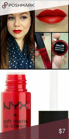 NYX Monte Carlo Brand new NYX Monte Carlo NYX Makeup Lipstick