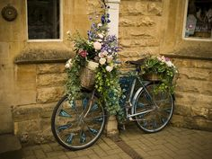 Search: bicycle and flowers Vegetable Planters, Garden Planters, Dream Garden, Garden Art, Bicycle Decor, Wheelbarrow Garden, Wisteria Pergola, Home Landscaping, Wishing Well