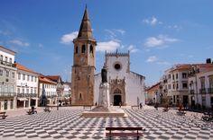 Praca de Republica, Tomar, Portugal