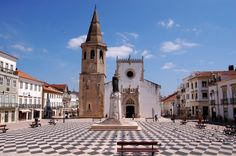 Tomar Portugal is an amazing place to visit. Within this small town is a beautiful castle built by the Knights Templar