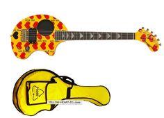 Xjapan burny Heart zo-3 guitar limited version.soon to end production #fernandes #xjapan #hide #yoshiki