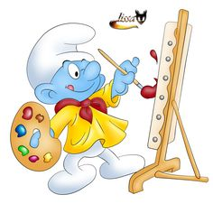 The Smurfs - Clipart Online Cartoon Character Tattoos, Disney Cartoon Characters, Cartoon Pics, Disney Cartoons, Funny Cartoons, Cartoon Drawings, Funny Jokes, Parrot Drawing, Naughty Kids