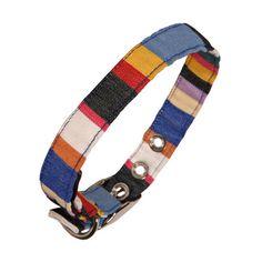 Deckchair Stripe Dog Collar XXL, 35€, now featured on Fab.