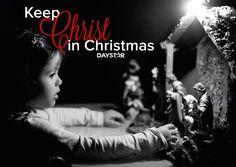 Keep Christ in Christmas! [Daystar.com]