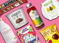 These healthy food brands are shaking up the grocery scene due to their use of clean ingredients, transparent labels, and sustainable farming practices. Healthy Chicken Recipes, Gourmet Recipes, Real Food Recipes, Diet Recipes, Healthy Snacks, Healthy Eats, Vegan Recipes, Water Recipes, Easy Recipes