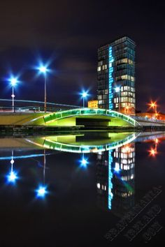 Grand Canal Plaza ~ Dublin, Ireland