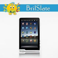 BrilSlate is a snazzy, high performance, Android 4.0 (ice cream sandwich) tablet with multi-point capacitive touch screen and an amazingly sleek metal casing! Great for school, home and office use. Surf the web, check and send emails, create and edit documents, download great apps from the Android Market, play games, listen to music, watch movies and more!  Click here to know more about the product: http://www.brilindia.com/bril_slate.php